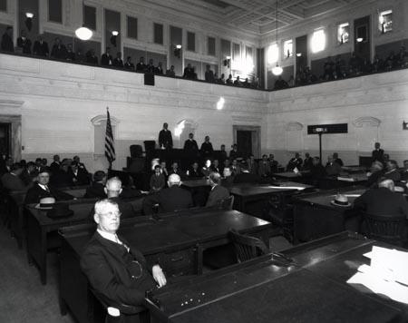 Oklahoma Senate Chambers 1918