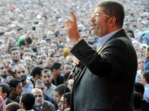 Deposed Egyptian President Morsi