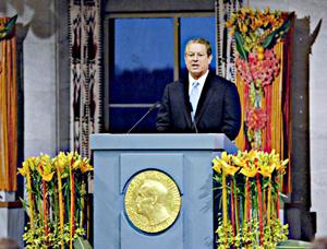 Al Gore (2007) Nobel Peace Prize