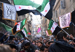 Syrian Islamists demonstrate