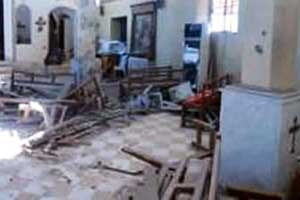 Syrian Churches are vandalized and looted