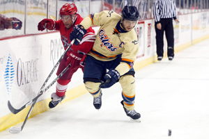 Tulsa Oilers vs Allen Americans at BOK Center in Tulsa, Oklahoma