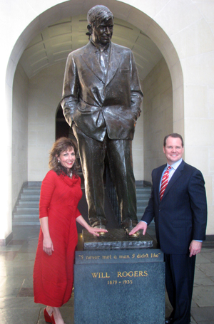 Lt. Gov. Todd Lamb and Monica Lamb.