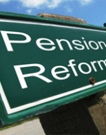Politician and public pension perks