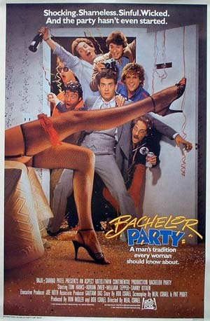 1984 movie Bachelor Party reflected the times