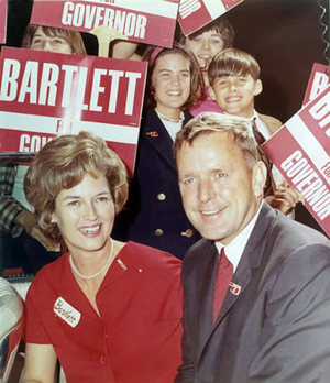 Dewey Bartlett Sr. with family prior to election