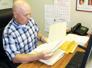 Sgt. Greg Gibson of the Shawnee Police Department. (Tim Farley / Red Dirt Report)