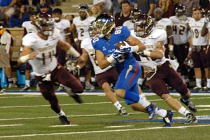 TU vs. Texas State (Photo by Greg Duke)