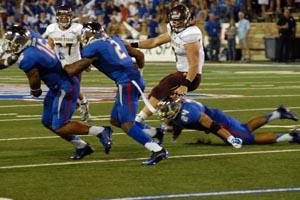 TU vs. Texas State (Photo by Greg Duke)
