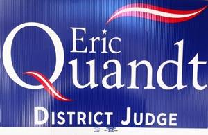 Eric Quandt Yard Sign