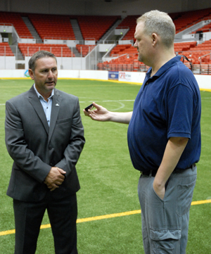 Revolution Coach David Yates interview with Rich Loham, Tulsa Today