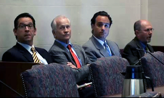 Photo OKCFox.com. A senate interim study focused on the case of Dr. Steven Anagnost.