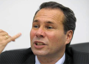 Alberto Nisman. Photo: Sky News