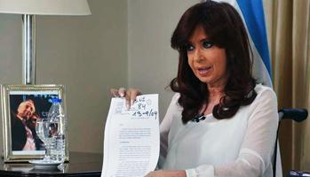 Argentina President Cristina Fernand