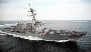 USS Farragut is an Arleigh Burke-class destroyer in the US Navy. She is the fifth Navy ship named for Admiral David Farragut (1801–1870).