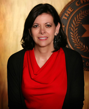 Julia Coates, candidate for Deputy Chief, Cherokee Nation