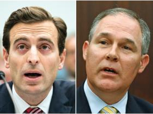 Nevada AG Adam Laxalt(left) and Oklahoma AG Scott Pruitt