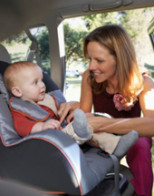 Children's car seat safety check event