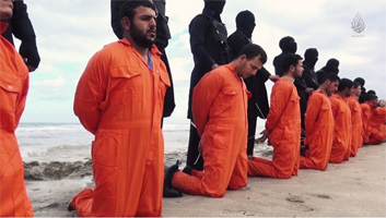 ISIS beheading Christians