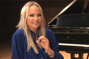 Kristin Chenoweth video supports OKPOP online