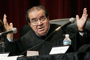 Supreme Court Justice Antonin Scalia