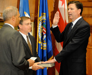 James Comey is reported to take his oath to protect and defend seriously.