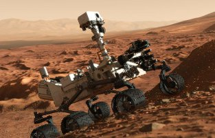 NASA's Curiosity on Mars