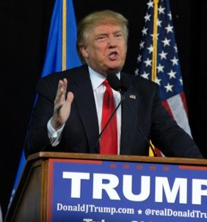 Donald Trump. Photo by Greg Duke, Tulsa Today