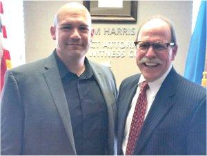 Vic Regalado and former Tulsa County DA Tim Harris