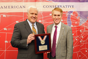 ACU Chairman Matt Schlapp and Senator James Lankford