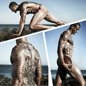 Colin Kaepernick in the ESPN body issue
