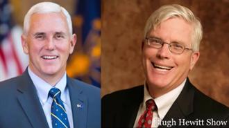GOP Vice President Nominee and host Hugh Hewitt