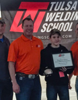 Annual welding competition names champion