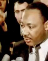 Martin Luther King condemned both sides