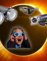 Warning: Solar Eclipse can damage vision