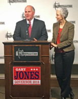 Gary Jones announces for governor