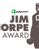 Bob Stoops announces Jim Thorpe Award