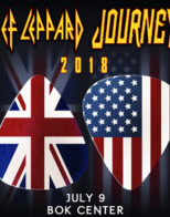 Def Leppard & Journey co-headline Tulsa tour