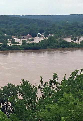 Arkansas River receding in Oklahoma (for now)   Tulsa Today