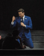 Tulsa evening with Michael Buble'
