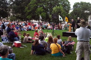Citizens rally to oppose, IRS, NSA, Immigration and other liberal policies