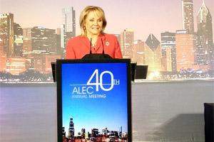 Gov. Fallin at ALEC