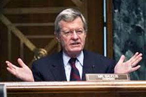 Senator Max Baucus, (D-Mont.)
