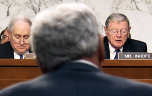 Sen. Inhofe in committee
