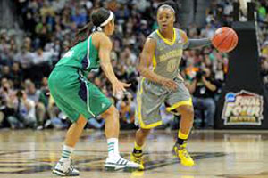 Tulsa Shock selected Odyssey Sims (#0) with the second pick of the 2014 WNBA Draft