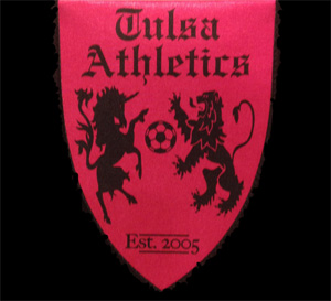 Tulsa Athletics Pennant
