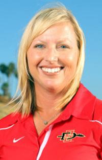 Coach Emilee Klein-Gille