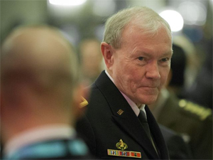 Gen. Martin Dempsey, U.S. Chairman of the Joint Chiefs of Staff