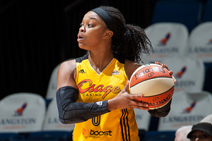 Odyssey Sims, Tulsa Shock (Photo by Shane Bevel/NBAE via Getty Images)