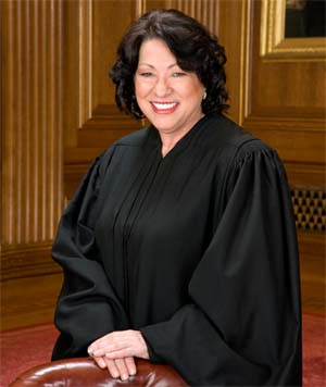 Justice Sonia Sotomayor